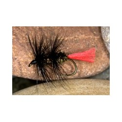 Sea Trout Premium Black Worm Fly $2.70