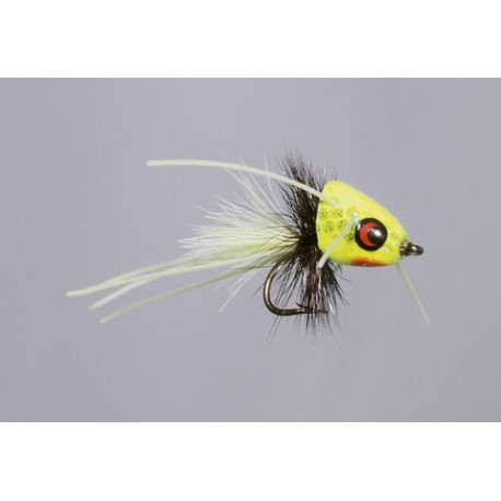 Chartreuse CB Micro-Me Diving Frog