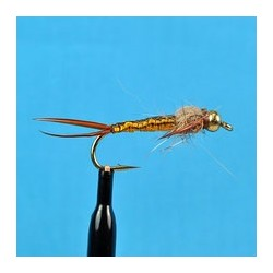 Bead Head Woven Stone Fly Brown