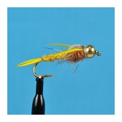 Bead Head Woven Stone Fly Golden