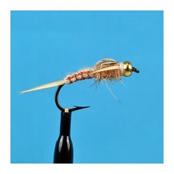 Bead Head Woven Stone Fly Tan
