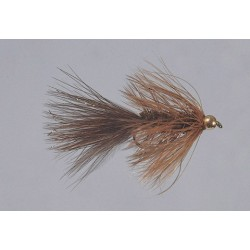 Beadhead Brown Wooly Bugger