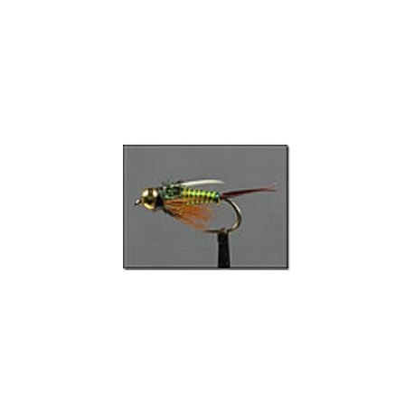 BH Prince Nymph Hot Wire Green Yellow