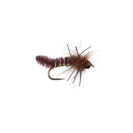 BH Rub-a-Dub Caddis Pupa - Brown