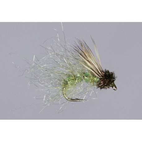 Caddis Green Glass Sparkle Pupa