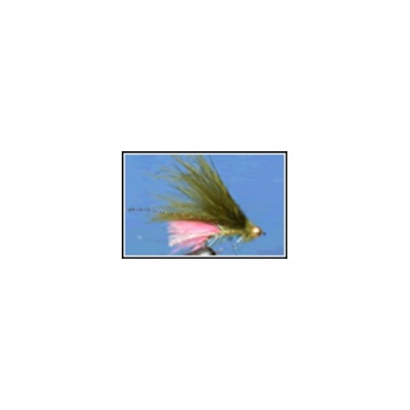 Dawsons Olive with Fluo Pink Tail