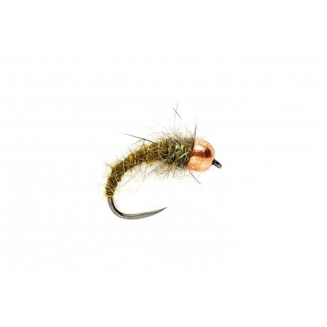 Olive Grub (TBH) Barbless
