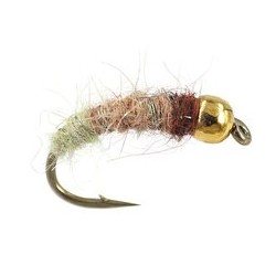Tungsten Nymph Beige & Olive Graylings Favourite $4.10