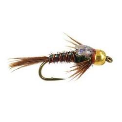 Tungsten Nymph BH Sparkle Back Pheasant Tail $4.10