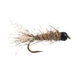 Tungsten Nymph Black Tail Hares Ear $4.10