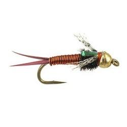 Tungsten Nymph BH Flashback Bob Copper $4.10
