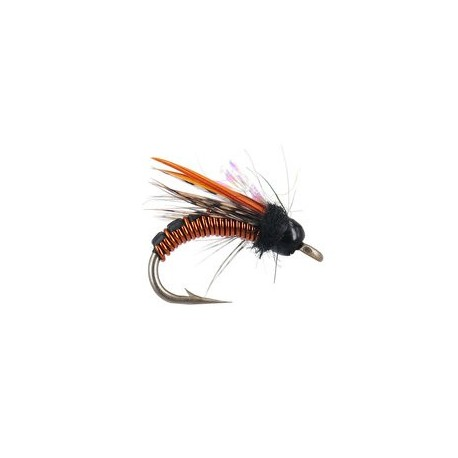 Wired Caddis - Amber