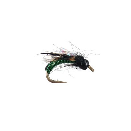 Beaded Nymphs Wired Caddis - Olive $2.49