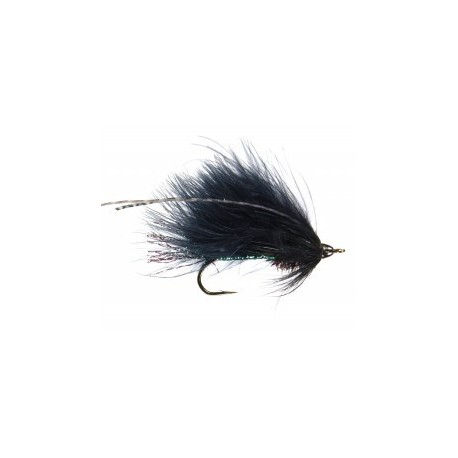 Aztec Streamer - Black Peacock