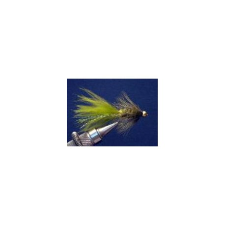 Bead Head Olive Woolybugger
