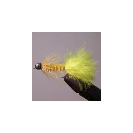 BH Conehead Wooly Bugger (yellow)