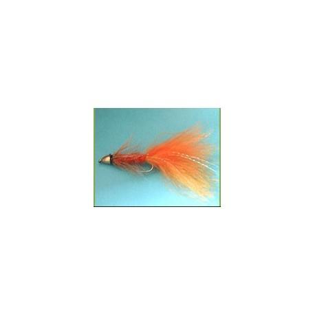 conehead wollybugger orange