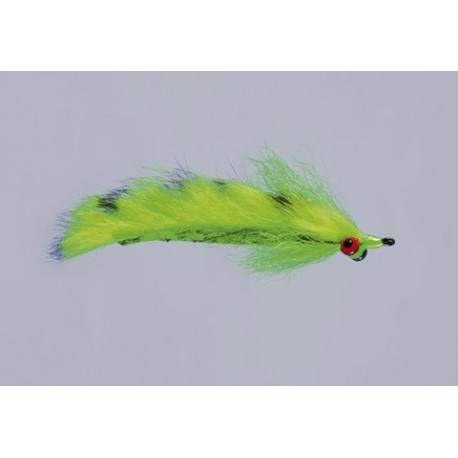 Clousers Chartreuse Barred Mad Tom