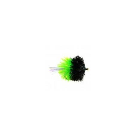 Black and Green Blob Uv Tail