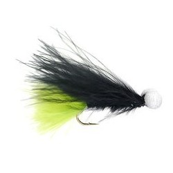 Black-Green Marabou Stimulator