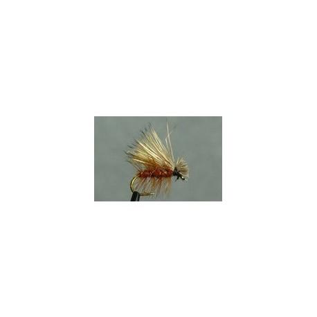 Dry Fishing Flies elk hair caddis brown $2.55