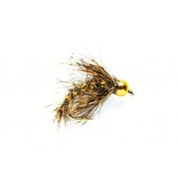 Nymph Flies Std 2 Holographic Hare's Ear $2.44