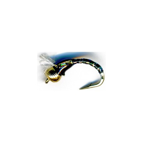 3D Glass Epoxy Bead Head Buzzer Green