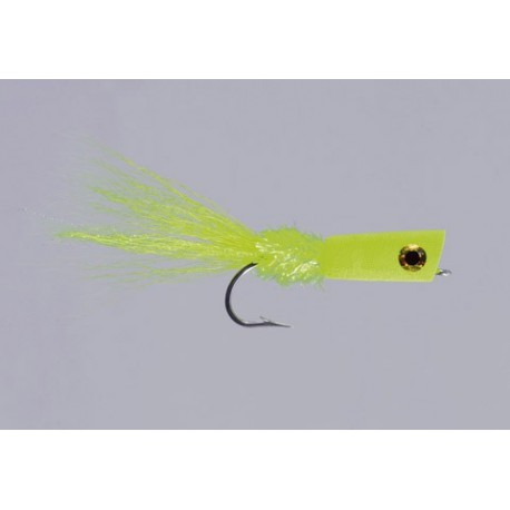 Leftys Chartreuse SW Popping Bug Chartreuse Lefty