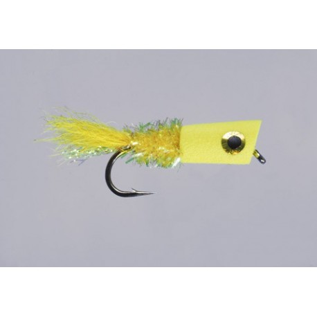 Leftys Yellow Panfish Popping Bug