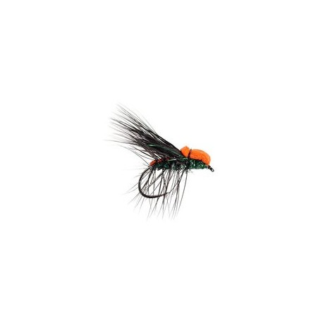 Dry Flies Barbless Black Peacock Deer Hair Caddis Evo BL $2.90
