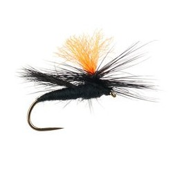 High Viz Parachute Caddis Black BL