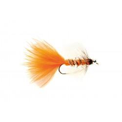 European Attractors Bead Eye Orange $2.60