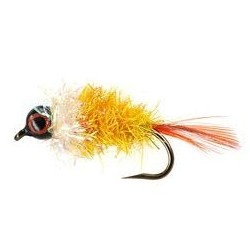 Brush Barbless Yellow Big Jig