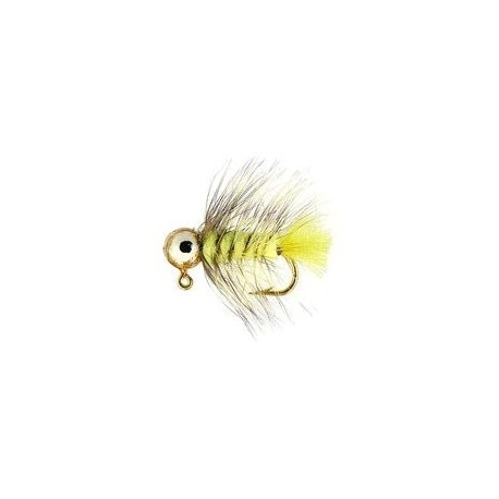 Jig Nymphs Fluo Yellow Eyed Jig $3.00