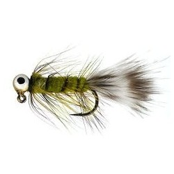 Green Eyed Wooly Jig