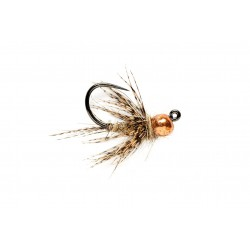 Jig Nymphs March Brown Jig Barbless $3.00
