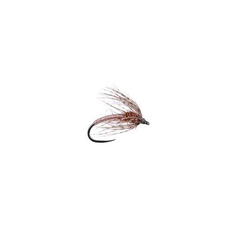 Light Metallic Soft Hackles Spider BL