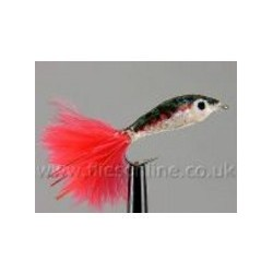 Epoxy Minnow Pearl and Red