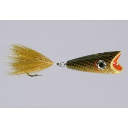 CB Bronze Gold Big-Mouth Bubble-Head