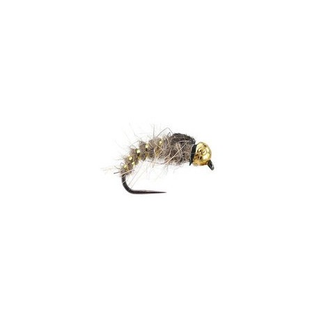 Tungsten Gold Ribbed Hares Ear BL