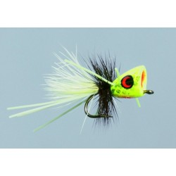 Bass and Poppers CB Chartreuse Micro-Me Pop Frog $10.00