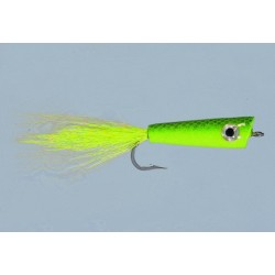 CB Chartreuse Pencil Popper