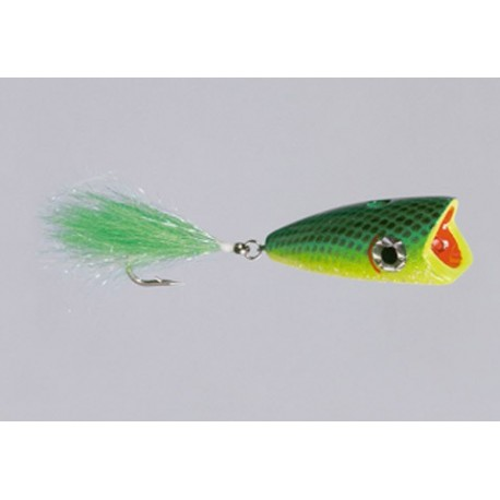 CB Green Yellow Big-Mouth Bubble-Head A CW