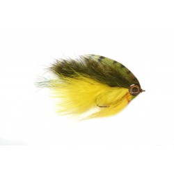 Bailes Out Minnow Yellow & Olive