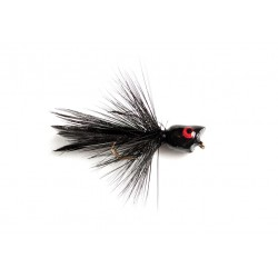 Bluegill Bug Popper Black