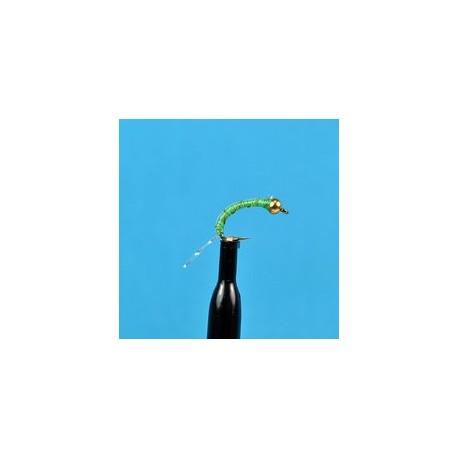 Bead Head Zebra Midge Chartreuse