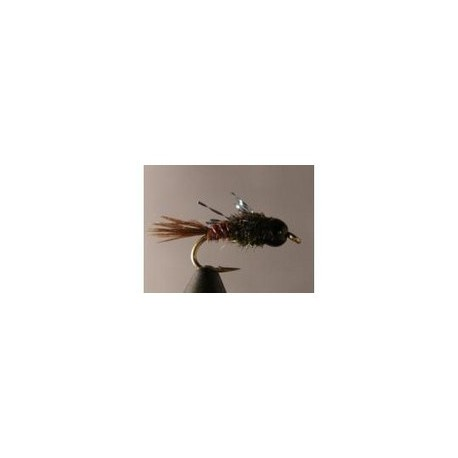 Beadhead Atomic Pheasant Tail Red Wire