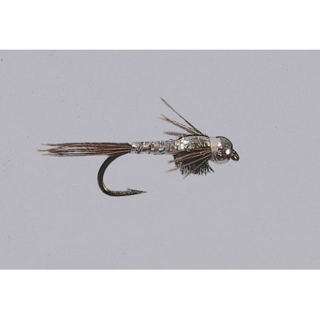 Beadhead Silver Lightning Bug