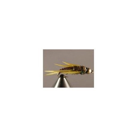 Beadhead Wired Stonefly Yellow